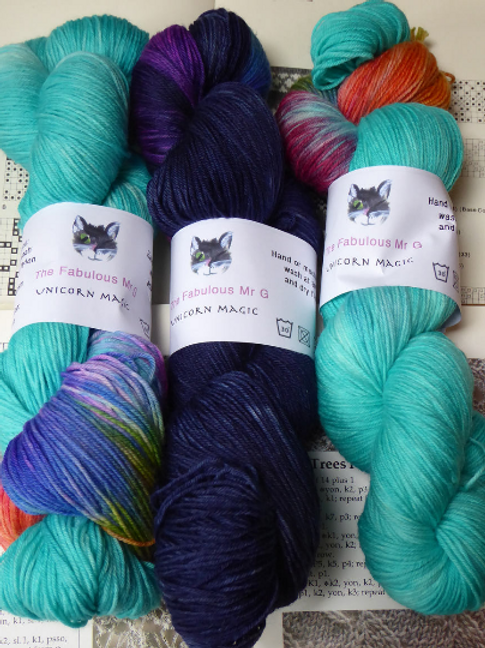 Unicorn Magic: 4 Ply/Fingering, Merino/Nylon