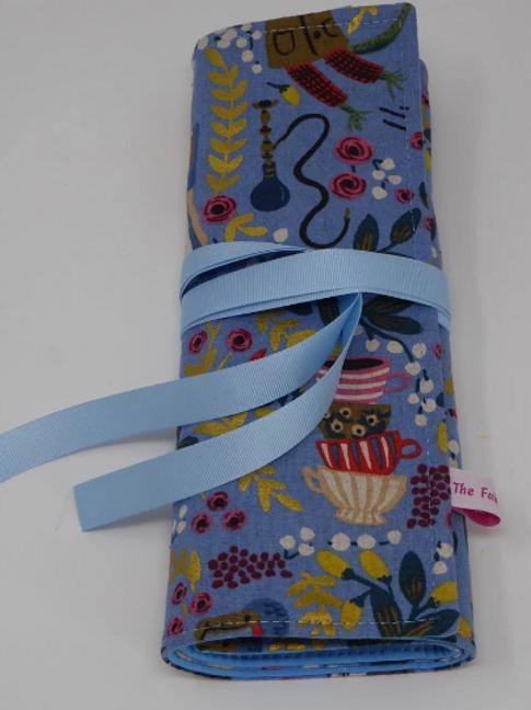 Linen & Cotton Knitting Needle Organiser