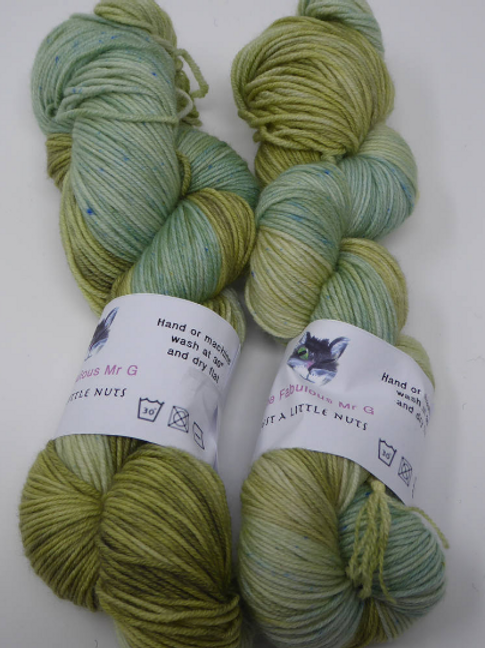 Just a Little Nuts: DK, Merino/Nylon