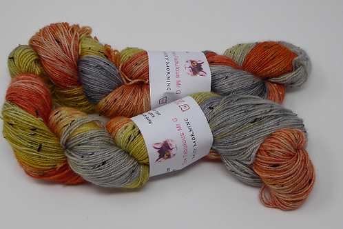 Misty Morning:Fingering/4 Ply,Donegal Tweed 100gms