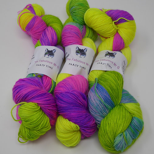 Party Time: 4 Ply/Fingering, Merino, Nylon