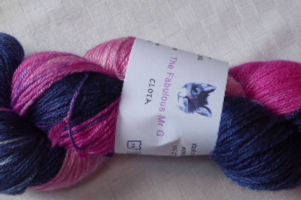 Cota: 4 Ply/Fingering,Blue Faced Leicester/Silk