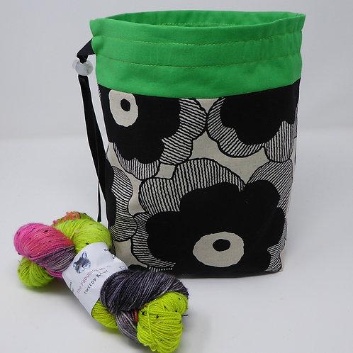 Linen/Cotton Project Bag