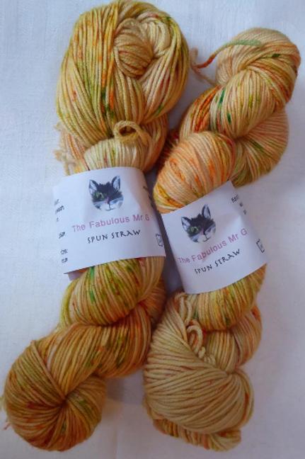 Spun Straw: DK, Merino/Nylon