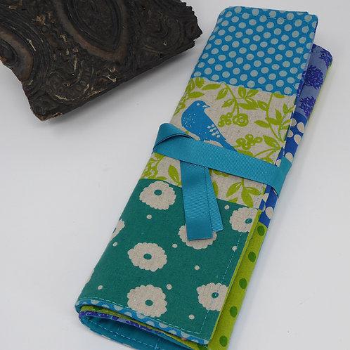 Linen & Cotton Knitting Needle/Crochet Hook Organiser