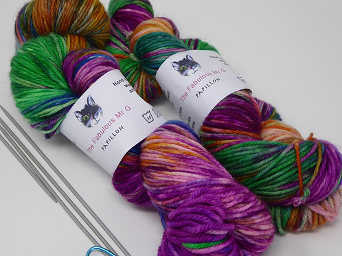 Papillon: DK, Light Worsted, Merino