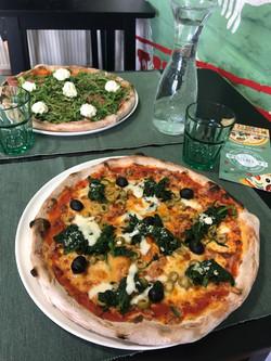 pizza siciliana e pizza sonny