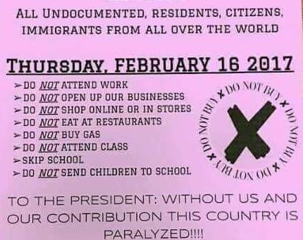 """Restaurantes y bares de Washington se sumaron a la protesta """"Un día sin inmigrantes"""""""