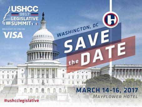 USHCCcelebrará el2017 Legislative Summit