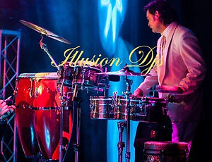 Percussionist with Bollywood DJs