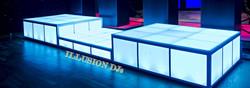 LED Dance Stage Setup