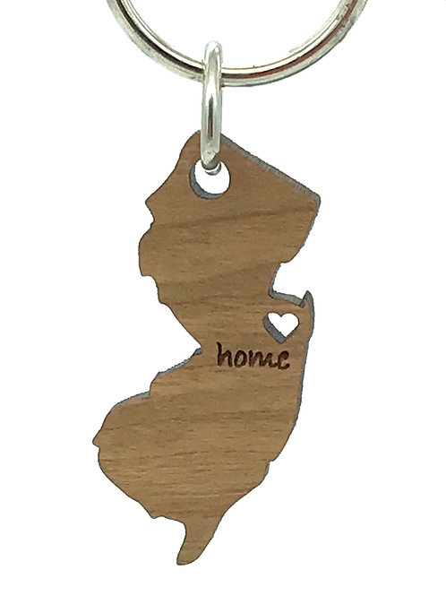 New Jersey Key Chain