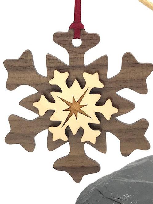 Double Layered Melting Snowflake