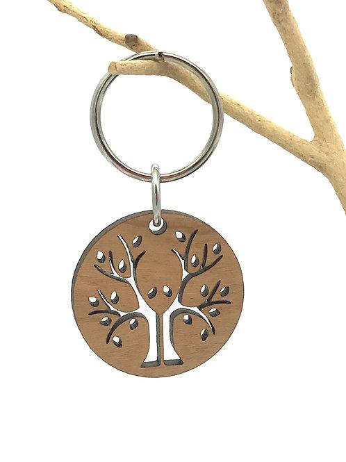Eyes in Trees Key Chain