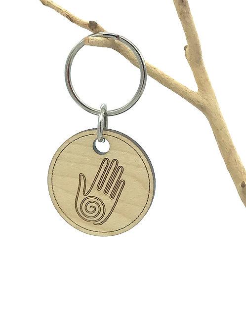 Spiral Hand Key Chain
