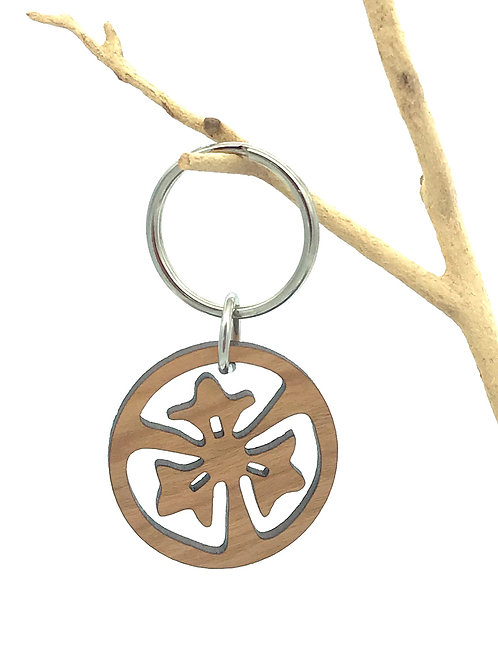 Three Petals Key Chain