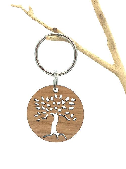 Leafy Tree Key Chain