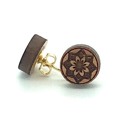 Lotus Post Earring
