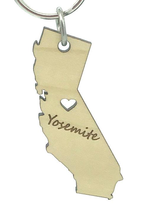 California Key Chain