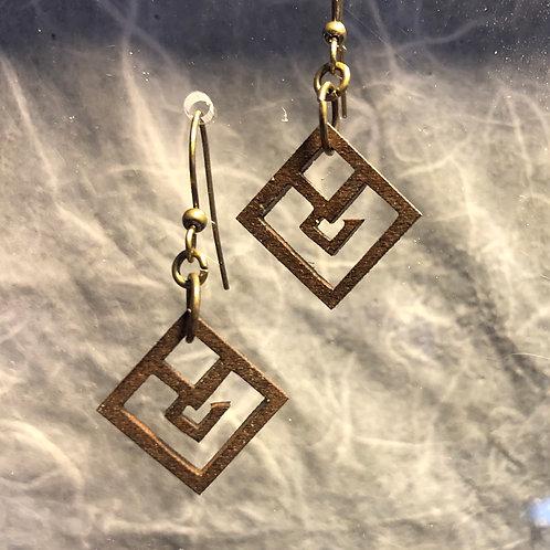 Hooked Dangle Earrings
