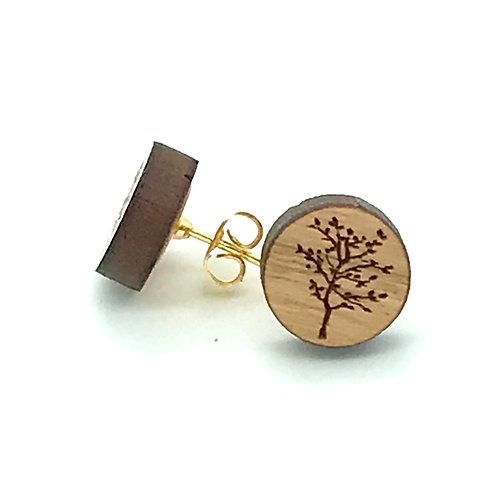 Spring Tree Post Earring