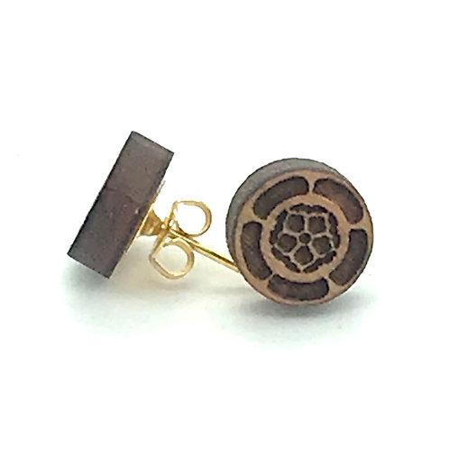 Sakura Post Earring