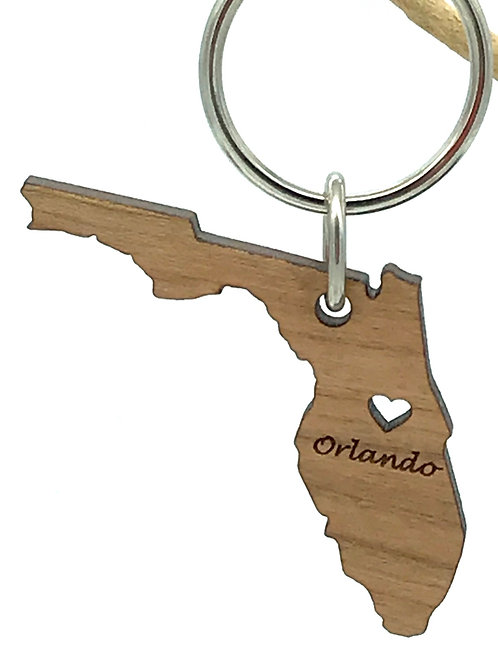 Florida Key Chain