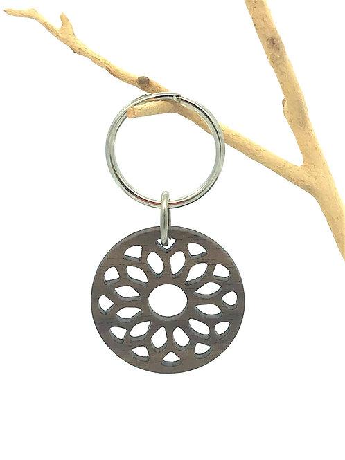 Geo Sun Key Chain