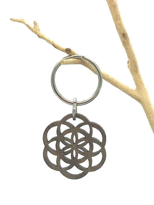 Seed of Life Key Chain