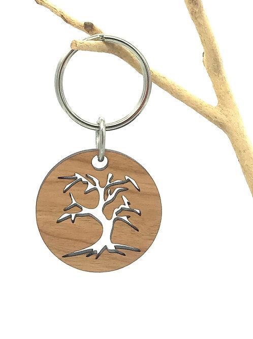 Old Tree Key Chain