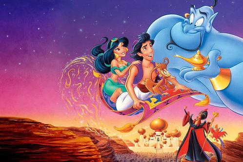 """A whole new world"" Aladdin"