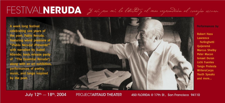 """""""Festival Neruda"""" 2004"""
