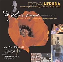 """""""de flor o sangre"""" Gallery show"""