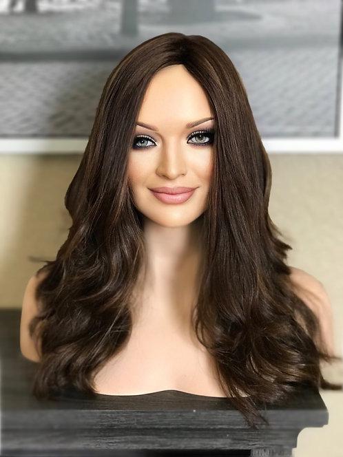 W37 McKenna European Human Hair Wig 22'