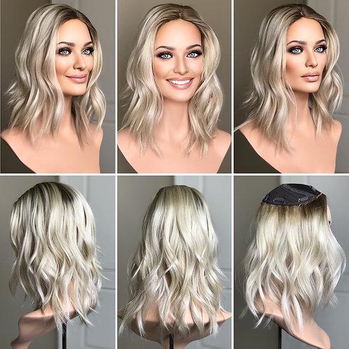"""T54 Mckenna Premium Human Hair Topper 7x7 14"""""""