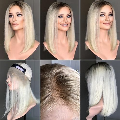 "W272 Mckenna Budget Line Glueless Lace Top Wig 16"""