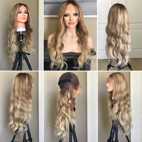 W102 Mckenna Budget Line Glueless Lace Wig 25'