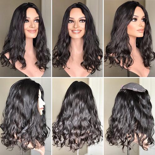 """T93 Mckenna Wavy Premium Human Hair 8x8 20"""""""