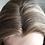 "Thumbnail: T128 Mckenna Premium Human Hair Silk Top Lace Front Topper 8x8 22"""