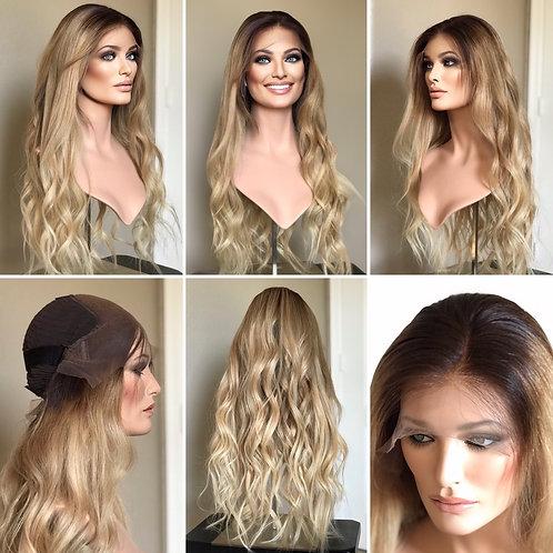 """W110 Mckenna Budget Line Glueless Lace Wig 25"""""""