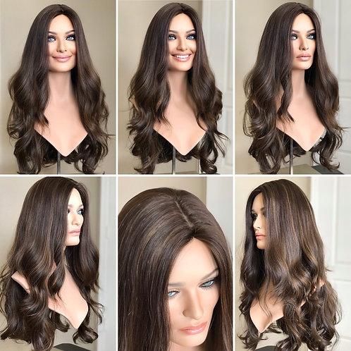 """W98 Mckenna European Human Hair Wig 26"""""""