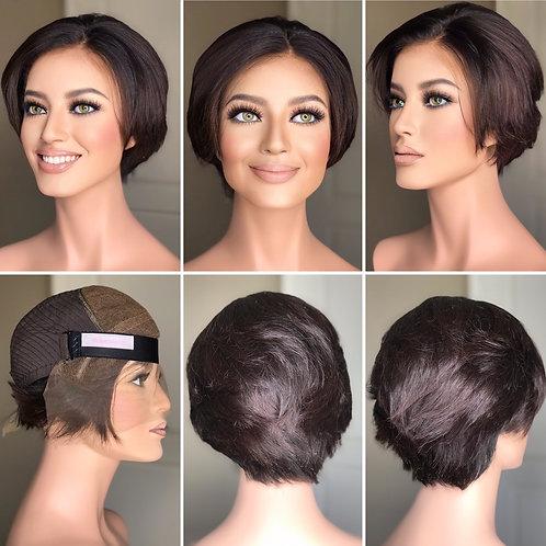 W244 Mckenna Budget Line Glueless Lace Wig Pixie Cut