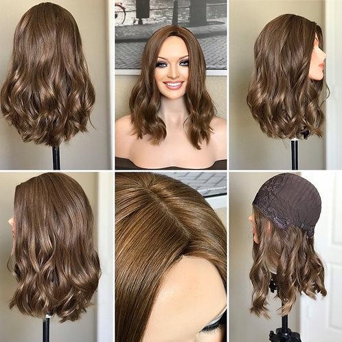 W100 McKenna Full Wig European Human Hair 17'