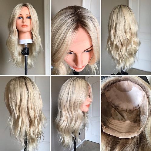 W61 Mckenna Full Wig Premium Human Hair 20'