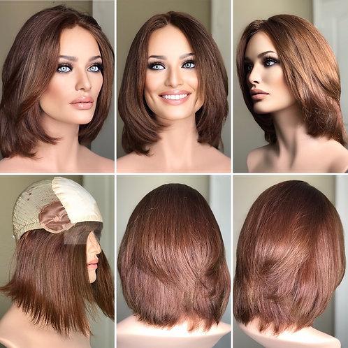 """W299 Mckenna European Human Hair Bob Cut 13"""""""