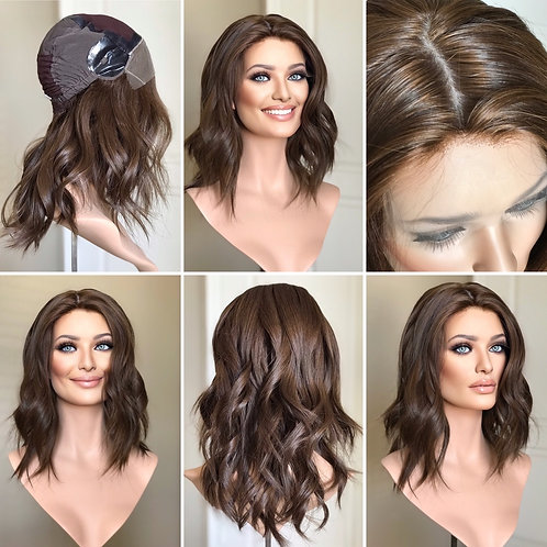 "W111 IWIG Premium Human Hair Wig 17"""