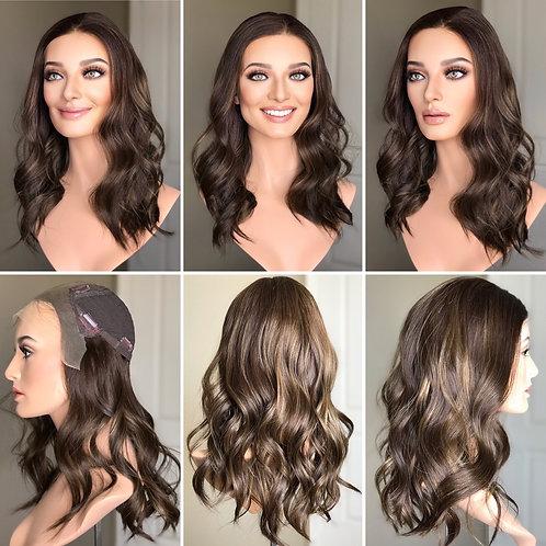 """T89 Mckenna Premium Human Hair Lace Top Whopper 10x10 20"""""""