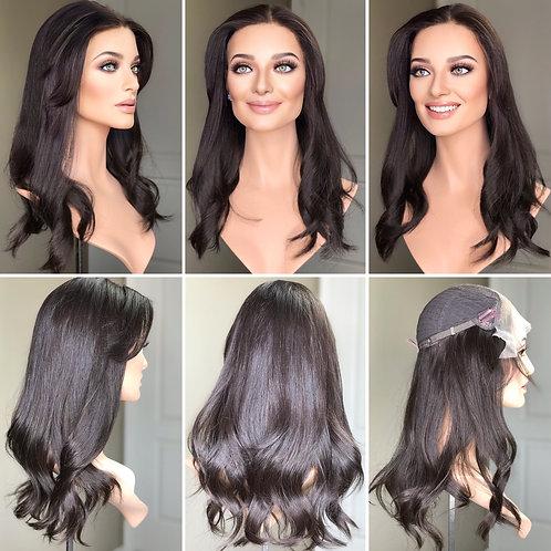 """T110 Mckenna Premium Human Hair Lace Top Whopper 10x10 20"""""""