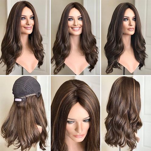 """W121 McKenna European Human Hair Wig 22"""""""