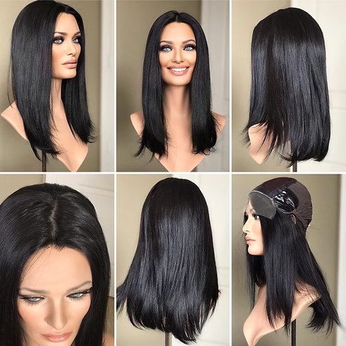 "W114 IWIG Premium Human Hair Wig 20"""